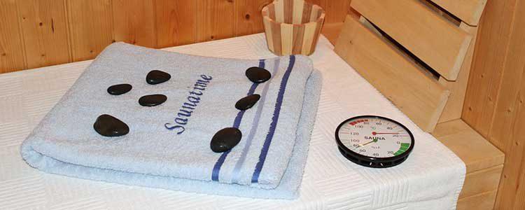 Ferienhaus oder Ferienwohnung mit Sauna in Boltenhagen