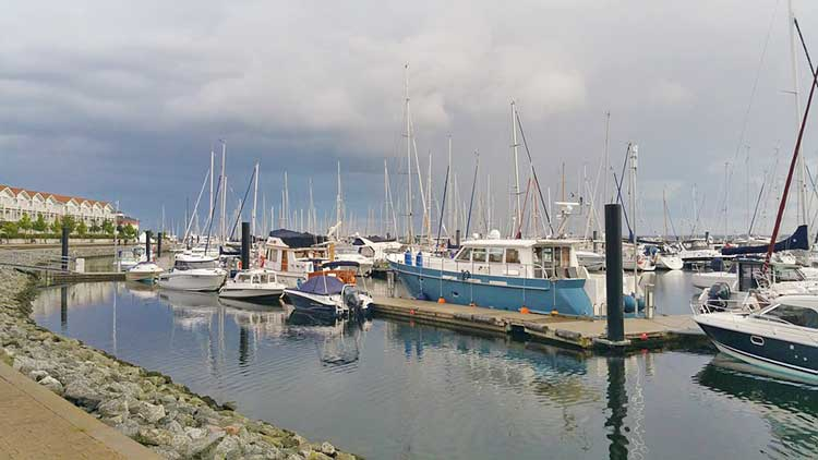 Yachthafen in Boltenhagen